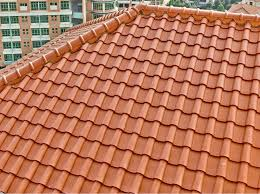 435x435mm low cost easy install quality decora roof tile size