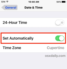 iPhone or iPad Showing Wrong Time Fix it Easily Here is How