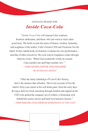 Inside Coca-Cola: A Ceo's Life Story Of Building The World's Most ... Inside Cacola A Ceos Life Story Of Building The Worlds Most 13 Surprising Companies That Still Give Out Peions You Can Now Have A Sleepover In Truck Ldon Evening Careers Atlantic Bottling Company Choosing Career As Driver Cacolas Christmas Caravan Kick Off Holiday Season The Coca Developing And Mtaing Driver Manager Relationship Delivery Shares His Favorite Parts What Every Coca Cola Driver Does Day Of The Year Makeithappy European Partners Liesbeth Ribbens New Coke Classic What Says About America Time Saves 6 Minutes Per During Loading Zetes