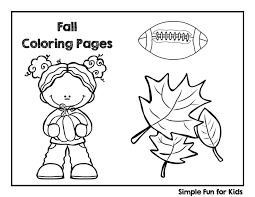 Printables For Kids Fine Motor Fun With Fall Coloring Pages