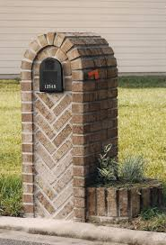 100 Letterbox Design Ideas Mailboxes Designs Herringbone Large Box With Two Planters 615