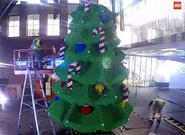 Worlds Biggest LEGO Christmas Tree Shines In Sydney