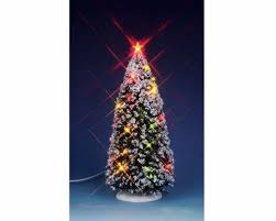 Lemax Battery Operated Christmas Tree 14390 Click To Enlarge