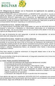 CONDICIONES GENERALES DEL SEGURO COLECTIVO DE PROTECCION CREDITICIA