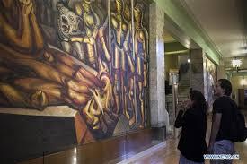 David Alfaro Siqueiros Murales Bellas Artes by Int U0027l Museum Day Marked Around World 千龙网 中国首都网