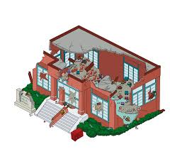 100 Family Guy House Plan Destroyed Quahog Public Library The Quest For
