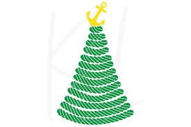 Nautical Christmas Tree Svg File