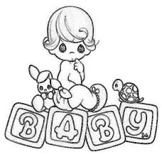 Printable 21 Precious Moments Baby Coloring Pages 7289