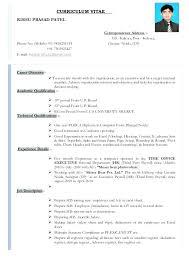 Mis Executive Resume Sample Pdf Format Back Office Create Professional
