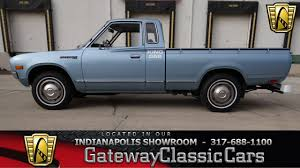 1979 Datsun King Cab #681-NDY Gateway Classic Cars - Indianapolis ... Datsun Pickup Truck Usa Canada Automobile Sales Brochures History Of Datsun Photos Past Cars Classic Truck Award In Texas Goes To 1972 Pickup Medium Ratrod And Bikes Trucks Mini Trucks Pickup Truckin Pinterest Nissan Original Arizona Truck 1974 620 For 5800 Get Into Bed With A Khabarovsk Russia August 28 2016 Car Wikipedia Bone Stock 1968 520 On The Road March 3 Car At Starting Grid Classic Race