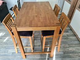 bar hochtisch mit 4 stühlen dänisches bettenlager