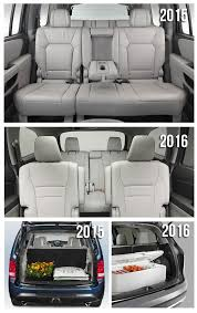 2016 honda pilot features and utility as compared to 2015 pilot