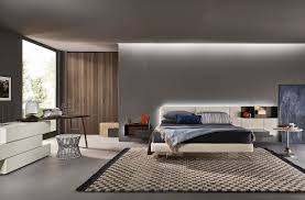 modernes schlafzimmer livitalia mit schwebendem bett und