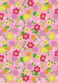 Enjoy These Free Summer Flower Scrapbook Paper Designs To Print We Have 9 New Here Many With A Retro Feel And Colours