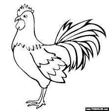 Farm Animals Online Coloring Pages