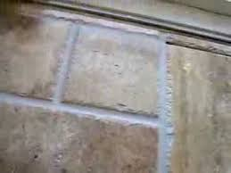 how to grout travertine tile flooring without losing