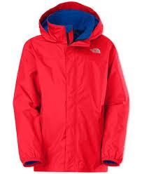 the north face boys u0027 resolve waterproof rain jacket products