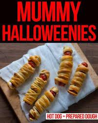 Halloween Hotdog Fingers Recipe by Mummy Halloweenies U2022 Steamy Kitchen Recipes