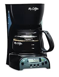 Amazon Mr Coffee 4 Cup Programmable Maker Drip Coffeemakers Kitchen Dining