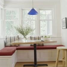 Banquette Seating Be Equipped Built In Kitchen For Small Dining