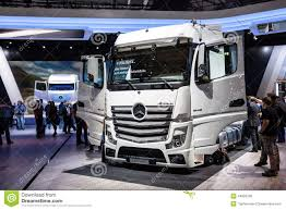 Mercedes Benz Actros 1848 LS Truck Editorial Image - Image Of Truck ...