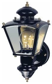 heath zenith hz 4150 bk motion sensor coach light black
