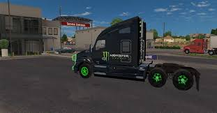 100 Monster Truck Simulator Kenworth T680 Energy Mega Pack V11 ATS Mod