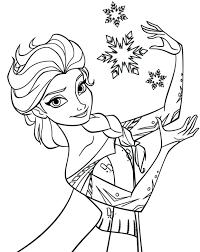Frozen Coloring Pages Elsa Let It Go Games Download Print Printable Page Pdf Full Size