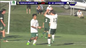 100 St Johnsbury Trucking Peoples Academy Vs Boys Soccer 91515 YouTube