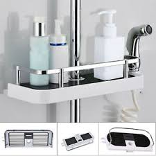 duschregal ohne bohren duschablage für duschstange