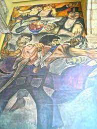 Jose Clemente Orozco Murales San Ildefonso by Becca In The Df Antiguo Colegio De San Ildefonso