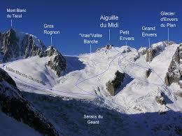 ski club mont noir vallee blanche guide ski in chamonix mont blanc valley with