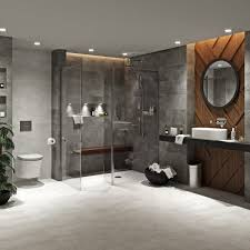 Mode Tate Dark Domain Ensuite Suite With Room Panel Shower