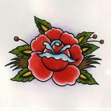 Tattoos Tattoo Flash Art Traditional Rose Roses TattooS