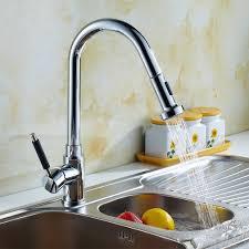 robinet pour evier cuisine auralum robinet gigogne chromé mitigeur extensible robinet chromé