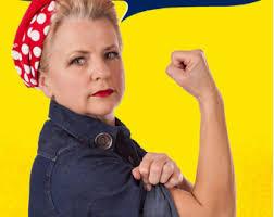 Rosie The Riveter Halloween Diy by Rosie The Riveter Printtwo Sides Rosie Side And Diy Side