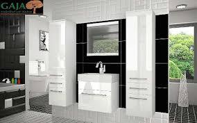 badezimmermöbel set mono 5 weiß hochglanz 404 1030
