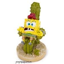 Spongebob Aquarium Decor Set by Aquarium Spongebob On Cactus Chair 168 Spongebob Decor