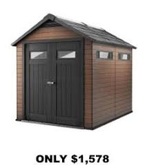 sam s club lifetime outdoor storage shed 8 x 12 5 backyard