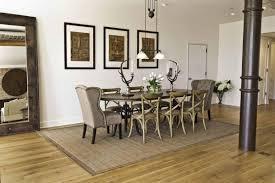 Unique Urban Rustic Dining Room Design
