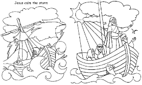 Luxury Jesus Calms The Storm Coloring Page 79 For Your Seasonal Colouring Pages With