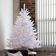 4 5ft Pre Lit Tabletop White Christmas Tree