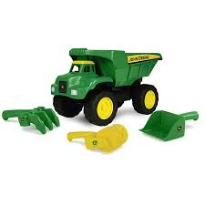 15 Inch Big Scoop Dump Truck With Sand Tools