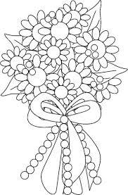 Illustration Tulipe Noir Et Blanc Dans Un Style Dessin À La Main