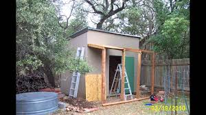 8x8 Storage Shed Plans by 8x10 Shed Plans Materials List Youtube