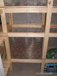 faire une chambre froide construire chambre froide étagères et tablettes de rangement plan