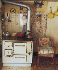 I Have A Vintage Stove In My Family Room With Vintage Kitchen