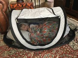 Peapod Plus Baby Travel Bed by Keeping My Twins Safe At Night While On Vacation Living Joy Daily