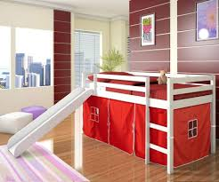 Low Loft Bed With Desk Plans by Loft Beds Playhouse Loft Bed With Stairs Boys White Low Castle