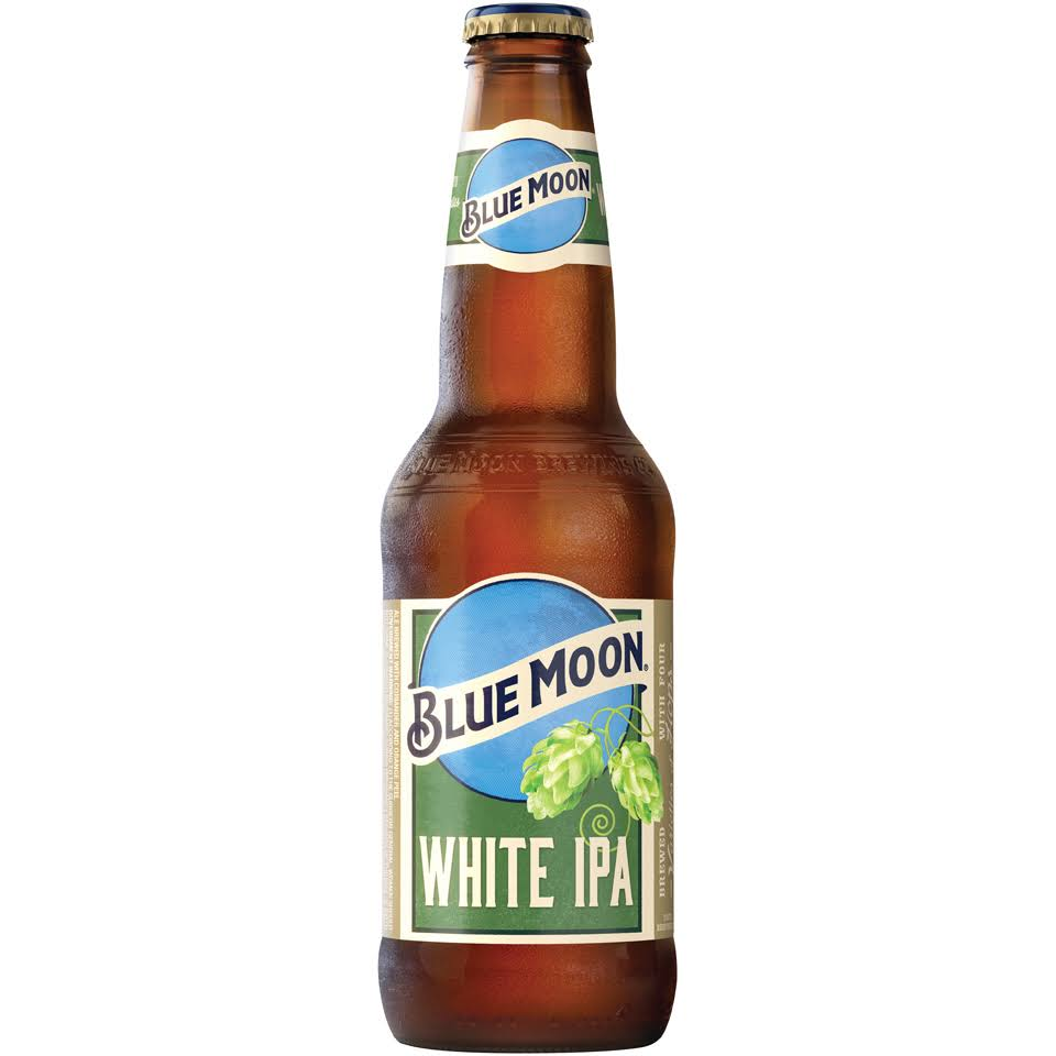 Blue Moon White Ipa Blonde Ale 12 Fl. Oz. Bottle